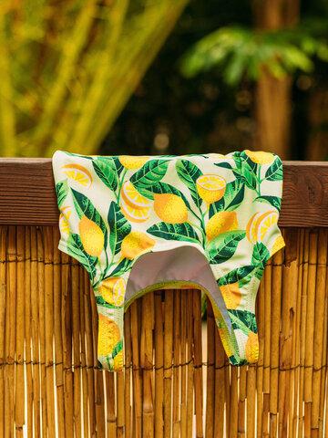Original gift Girls' Swimsuit Lemons