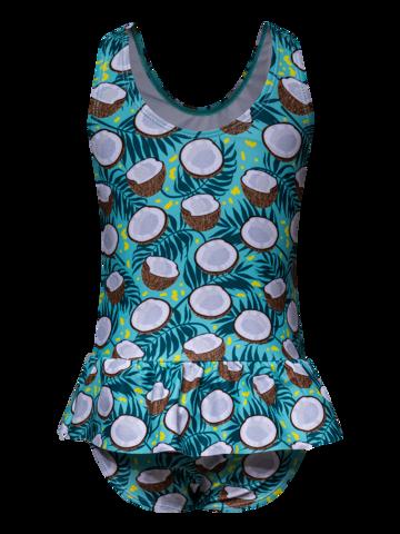 ZNIŻKA Wesoły strój kąpielowy dla dziewcząt Kokos