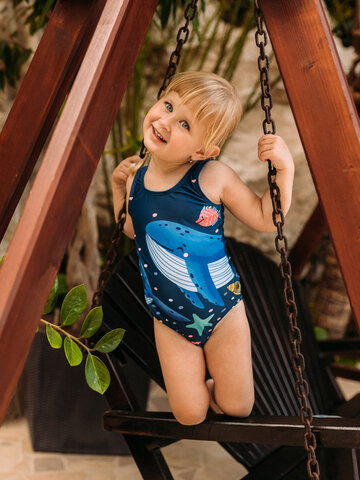 Gift idea Girls' Swimsuit In a Submarine
