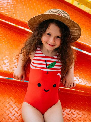 Căutați cadou unic și original? Va bucura enorm sărbătoritul Costum de baie Vesel pentru Fete Măr Fericit