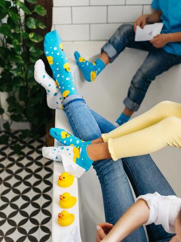 Výnimočný darček od Dedoles Calcetines tobilleros alegres para niños Captain Duck