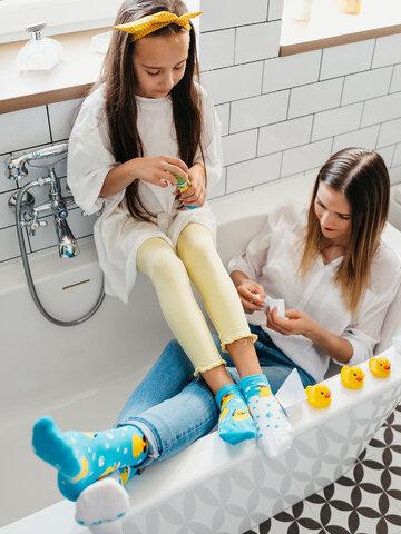 Tip na darček Calcetines tobilleros alegres para niños Captain Duck