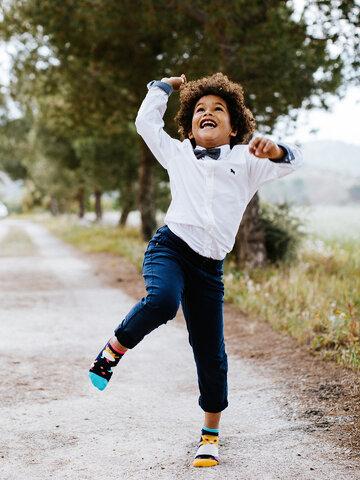 Výpredaj Veselé detské členkové ponožky Párty škrečky