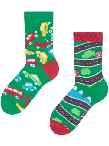 Potešte sa týmto kúskom Dedoles Kids' Socks Cars
