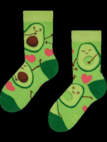 Výjimečný dárek od Dedoles Veselé dětské ponožky Avokádová láska