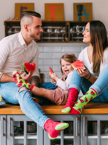 Sale Kids' Socks Watermelon