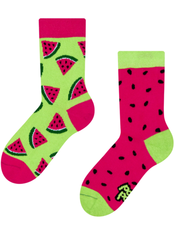 Looking for an original and unusual gift? The gifted person will surely surprise with Kids' Socks Watermelon