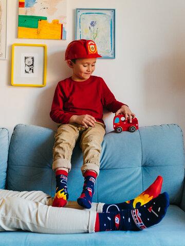 Pre dokonalý a originálny outfit Kids' Socks Firefighter