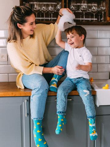 Obrázok produktu Vesele dječje čarape Patke