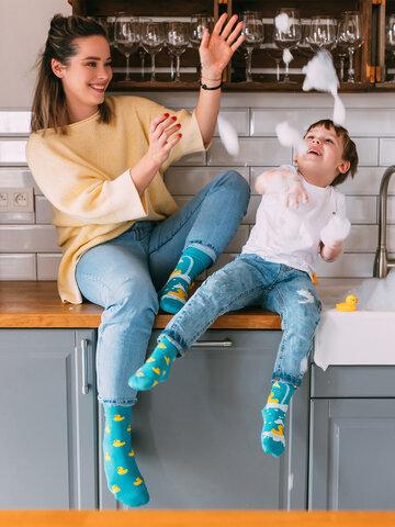 Tip na darček Vesele dječje čarape Patke