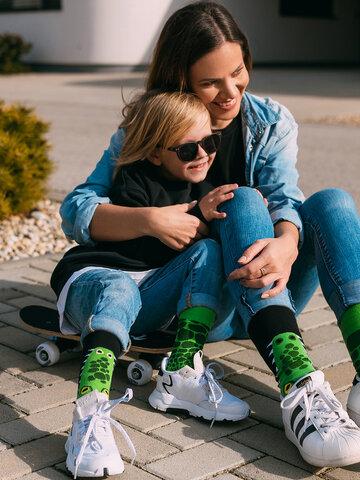 Výjimečný dárek od Dedoles Veselé dětské ponožky Krokodýl