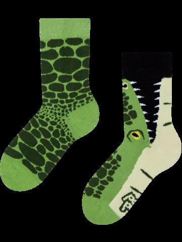 Foto Veselé dětské ponožky Krokodýl
