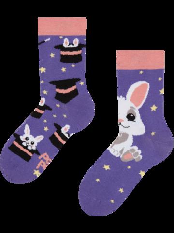 Výpredaj Veselé detské ponožky Kúzelný králiček