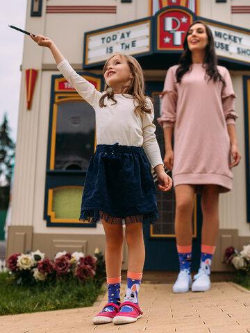 Pre dokonalý a originálny outfit Veselé detské ponožky Kúzelný králiček