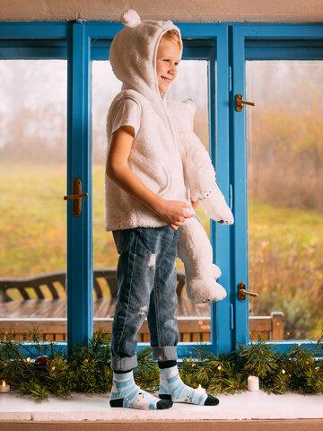Tip na darček Calcetines infantiles alegres Osos polares