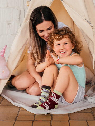 Reducerea Șosete Vesele pentru Copii Leneș
