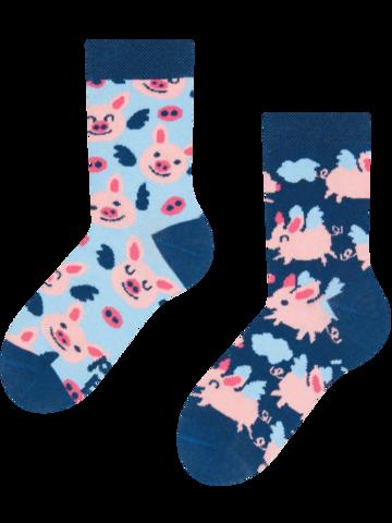 Sale Kids' Socks Flying Pigs