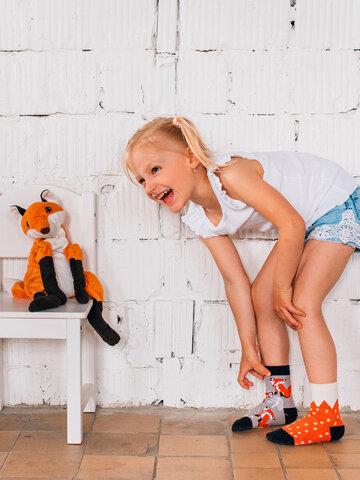 Geschenktipp Lustige Kindersocken Fuchs