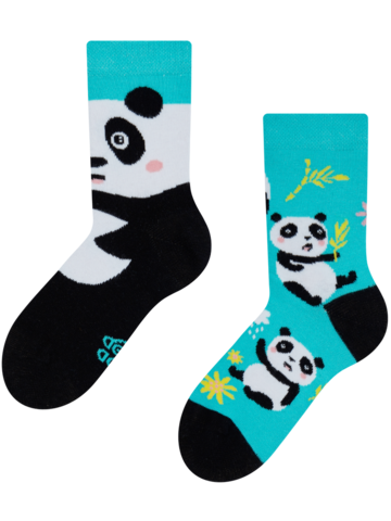 Potešte sa týmto kúskom Dedoles Vesele dječje čarape Panda