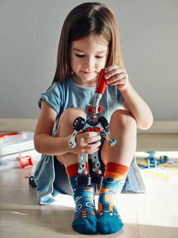 Obrázok produktu Calcetines infantiles alegres Robot