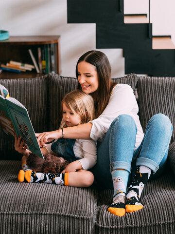 Obrázok produktu Vesele dječje čarape Sove