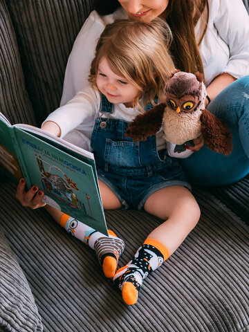 Výpredaj Vesele dječje čarape Sove