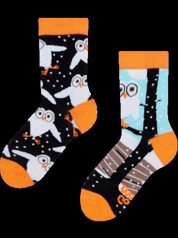 Pre dokonalý a originálny outfit Vesele dječje čarape Sove