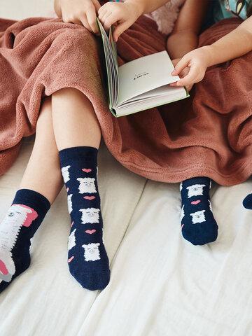 Potešte sa týmto kúskom Dedoles Živahne otroške nogavice Lama spi