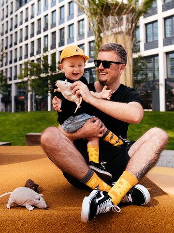 Lifestyle photo Kids' Socks Cheese