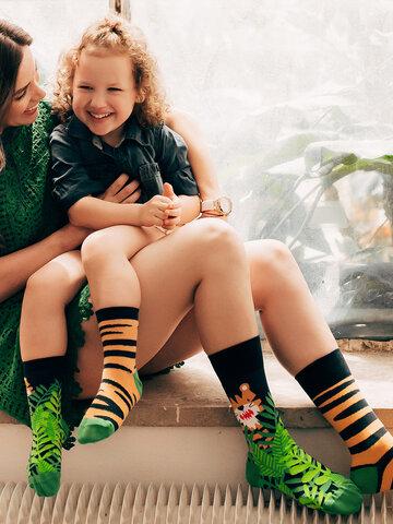 Potešte sa týmto kúskom Dedoles Živahne otroške nogavice Tiger