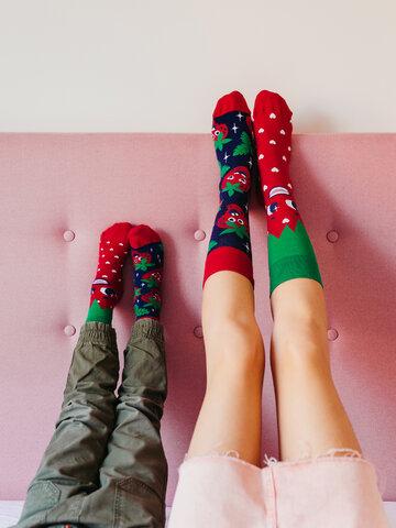Potešte sa týmto kúskom Dedoles Vesele dječje čarape Sretne jagode