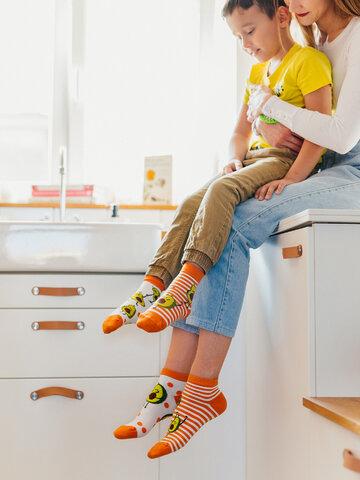 Tip na darček Živahne otroške nogavice Zabaven avokado