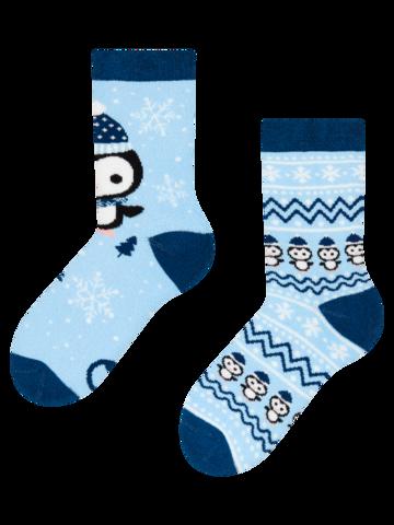 Lifestyle foto Cutie Cadou de Iarnă pentru Copii Pinguin & Om de Zăpadă