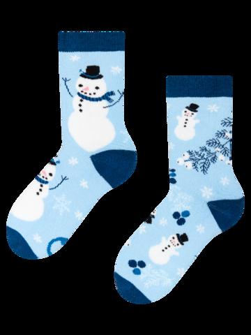 Cadou original de la Dedoles Cutie Cadou de Iarnă pentru Copii Pinguin & Om de Zăpadă