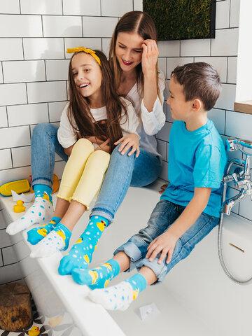 Reducerea Șosete  Vesele pentru copii Căpitanul Duck
