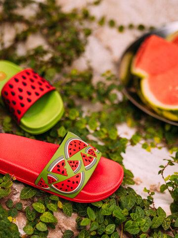 Pre dokonalý a originálny outfit Kids' Slides Watermelon