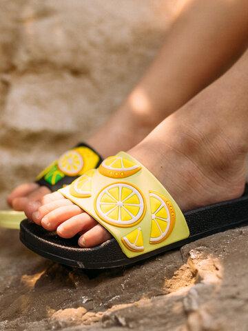 Original gift Kids' Slides Lemons