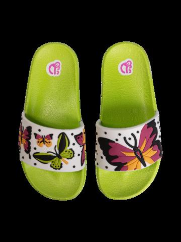 Original gift Kids' Slides Colorful Butterflies