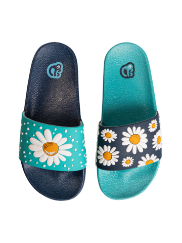 Výnimočný darček od Dedoles Veselé detské šľapky Kvet sedmokrásky