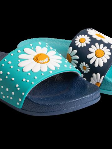 Výpredaj Veselé detské šľapky Kvet sedmokrásky