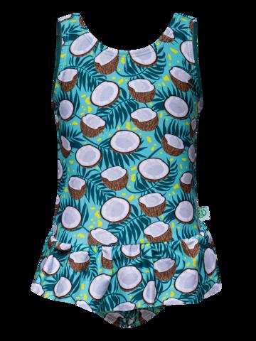 Dedoles oryginalny prezent Wesoły strój kąpielowy dla dziewcząt Kokos