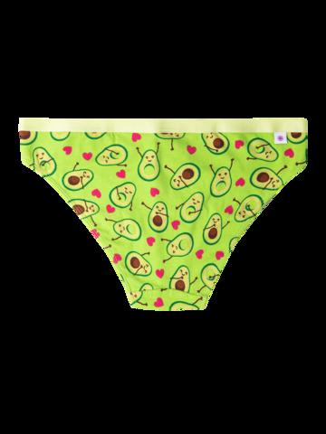 Ausverkauf Lustige Höschen für Frauen Avocado-Liebe