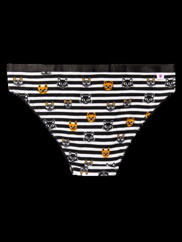 Obrázok produktu Vesele  ženske gaćice Mačke i pruge