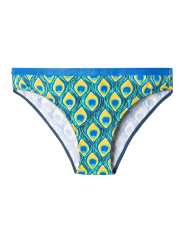 Obrázok produktu Весели дамски бикини Паун