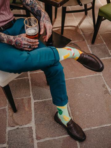 Tip na darček Calcetines alegres Cerveza y lúpulo