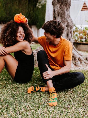Výpredaj Весели къси чорапи Хелоуинска тиква