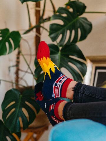 Tip na darček Živahne kratke nogavice Gasilec