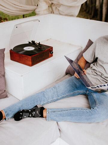 Lifestyle foto Calzini alla caviglia Buonumore Musica
