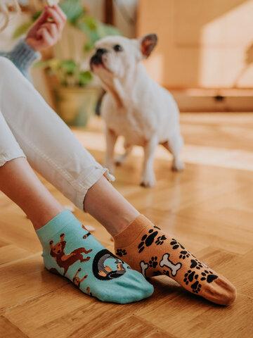 Lifestyle photo Ankle Socks Dachshund