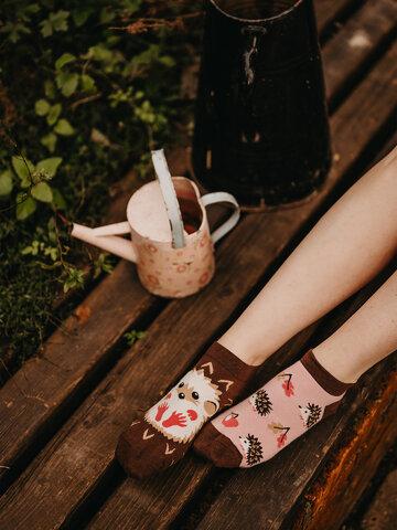 Potešte sa týmto kúskom Dedoles Ankle Socks Hedgehog